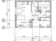 проект бани №2 - план