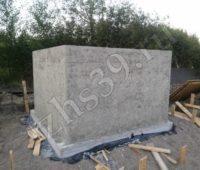 Строение из бетона