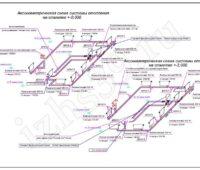 Проектирование отопления - Аксонометрическая схема радиаторного отопления