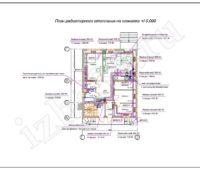 Проектирование отопления - План радиаторного отопления