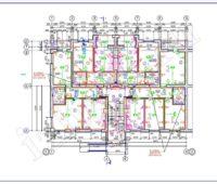 Проект электроснабжения - План осветительной сети