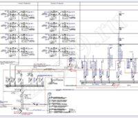 Проектирование электроснабжения - Схема ВРУ