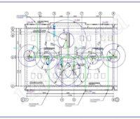 Проектирование электроснабжения - Схема молниезащиты