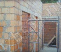 фото работ по кладке стен из кирпича