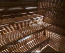 Вариант отделки для бани и сауны: материал ольха