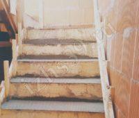 фото построенной монолитной лестницы на второй этаж