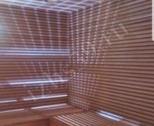 Сауна в доме: материал ольха