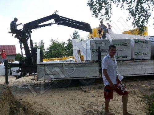 доставка газосиликатных блоков для строительства