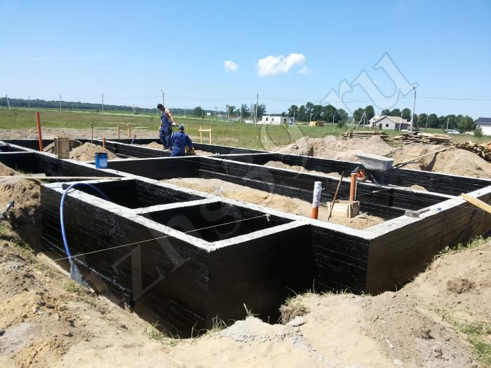 Построить фундамент подвал дома в Мытищах