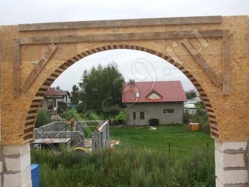 Оконная арка вблизи фото