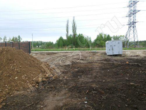 Подготовка участка под строительство - фото