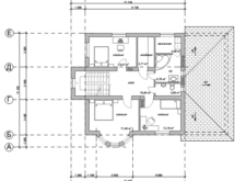 Проект двухэтажного дома. Поэтажные планы, план-схема. Проекты домов в Калининграде, фото. Строительство домов в Калининграде. Строительная компания. Купить проект дома, коттеджа. Заказать дом.