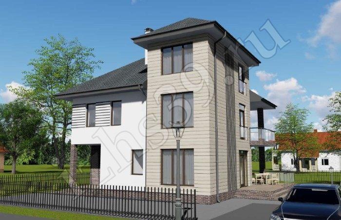 проект двухэтажного дома Балтика