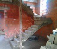 Монолитно-бетонная лестница