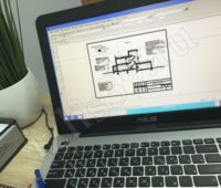 Разработка конструктивного раздела на компьютере - фото