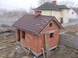 Баня из керамоблока фото
