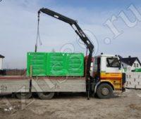 доставка газосиликатных блоков на объект