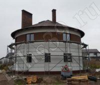 наружная отделка фасада дома фото