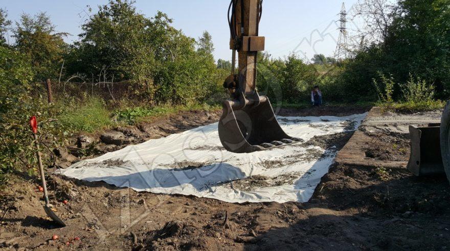Земельный участок. Монолитный плитный фундамент. Заливка, устройство фундаментов под дома в Калининграде. Строительные работы. Строительство домов в Калининграде. Строительная компания.