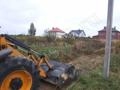 фото расчистки участка под дом