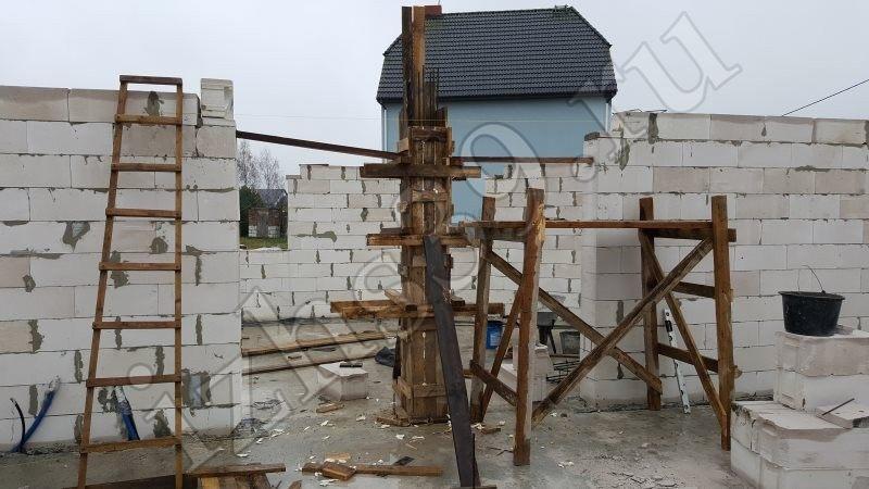 возведение газосиликатных стен