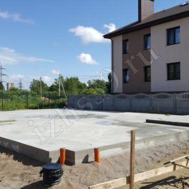 фото - Монолитный плитный фундамент под дом, Калининград