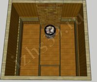 Схема парной для бани №2