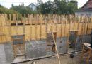 строительство стен цокольного этажа дома