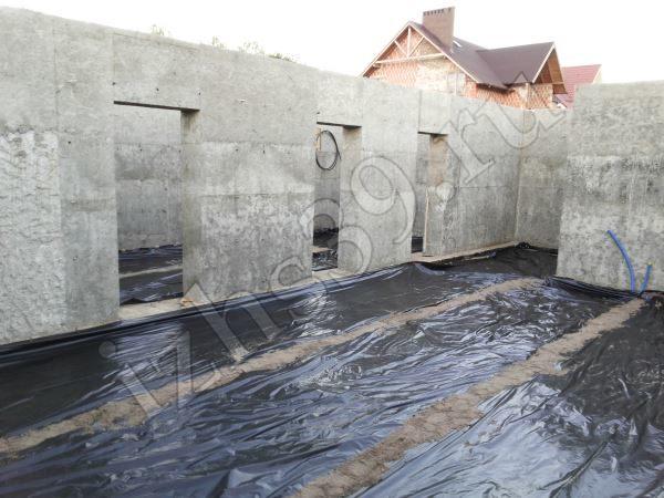 готовые монолитно-бетонные стены