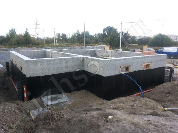 гидроизоляция стен цокольного этажа дома