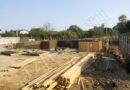 возведение опалубки под заливку бетонных стен