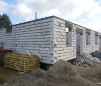 строительство первого этатжа фото