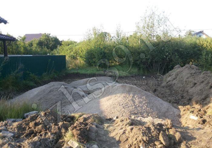 2 - завоз песка под основание