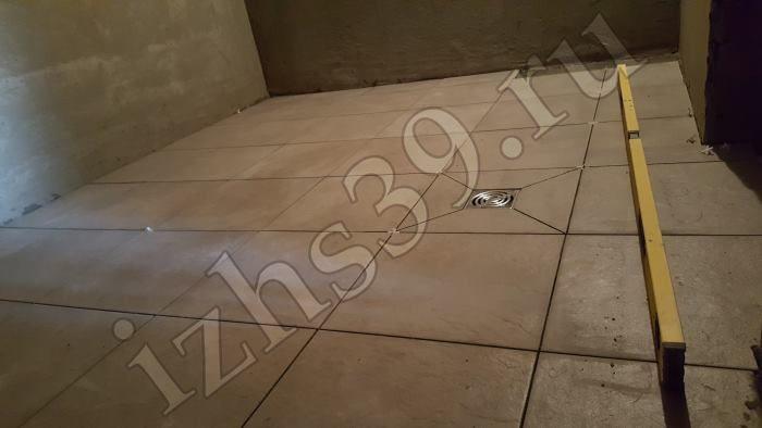 22 - укладка плитки в бане