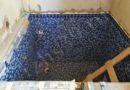 32 - отделка мозаикой купели