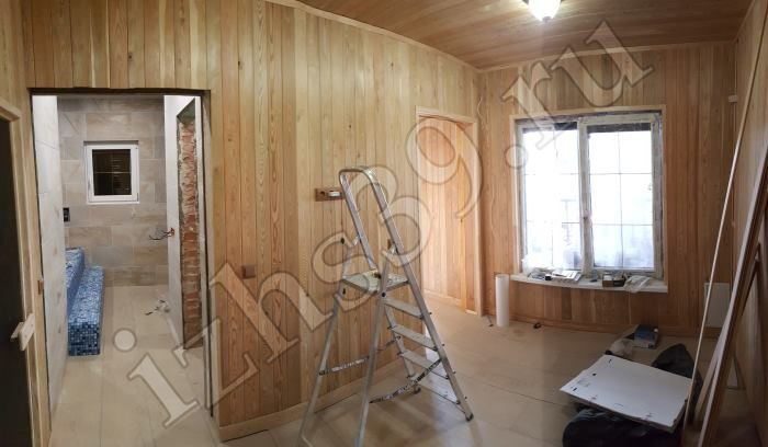 34 - внутрення отделка в бане