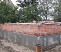 кладка стен из керамического блока - фото