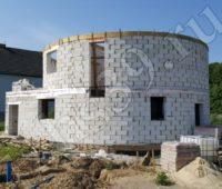 фото строительства из газосиликатных блоков