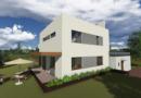 Проект двухэтажного дома. Проекты домов в Калининграде, фото. Строительство домов в Калининграде. Строительная компания. Купить проект дома, коттеджа. Заказать дом.